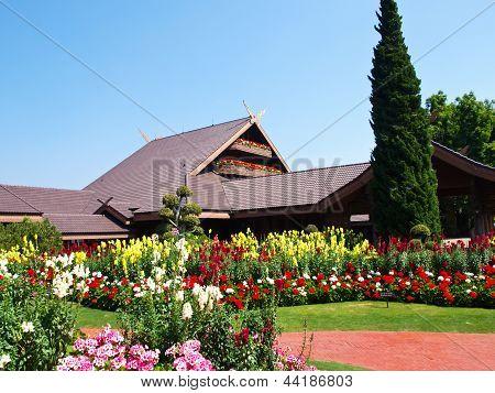 Doi Tung Villa, Chiang Rai, Thailand