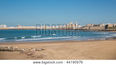 Cadiz and ocean