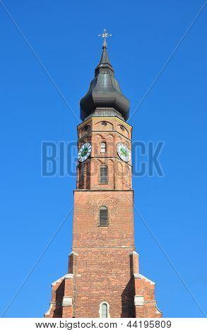 Basilica Sankt Jakob In Straubing, Bavaria