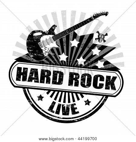 Hard Rock Stamp