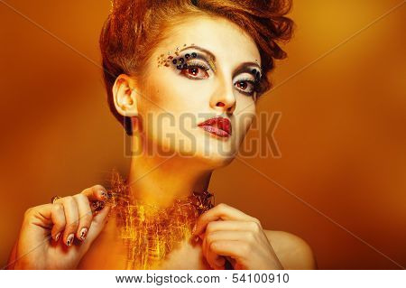 Beauty Portrait Of Girl