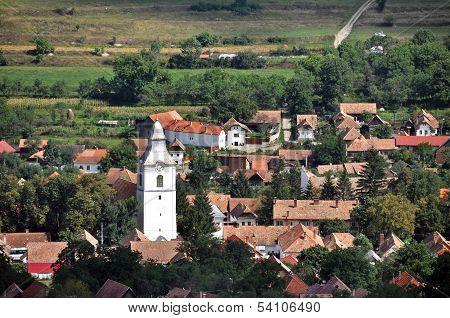 Rimetea village. Romania