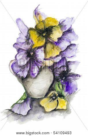 Dramatic Dark  Bouquet