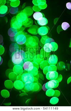 Green Bokeh 3