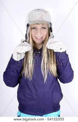 Woman With Helmet