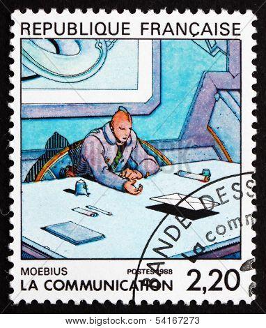 Postage Stamp France 1998 Cartoon, By Moebius