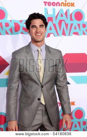 LOS ANGELES - NOV 17:  Darren Criss at the TeenNick Halo Awards at Hollywood Palladium on November 17, 2013 in Los Angeles, CA