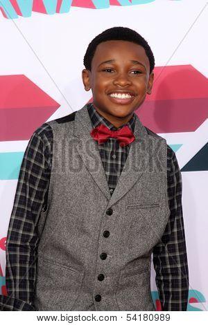 LOS ANGELES - NOV 17:  Curtis Harris at the TeenNick Halo Awards at Hollywood Palladium on November 17, 2013 in Los Angeles, CA