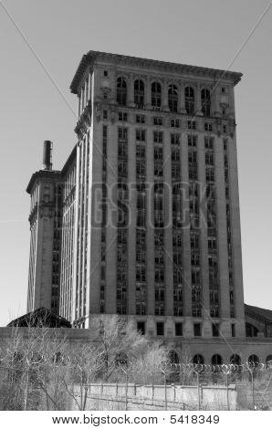 Detroit Central Train Station