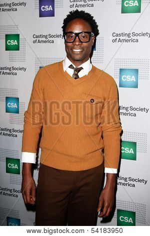 NEW YORK-NOV 18; Actor Billy Porter attends the CSA 29th Annual Artios Awards ceremony at the XL Nightclub on November 18, 2013 in New York City.
