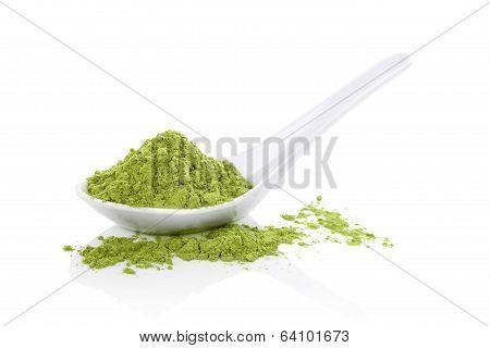 Wheatgrass Powder.