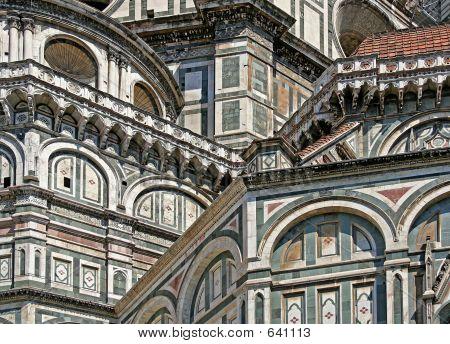 Duomo Santa Maria Del Fiore - Florence - Detail