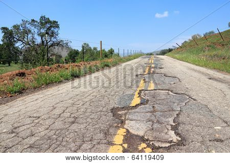 Bad Road In Usa