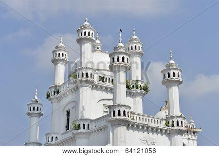 Minarets of the Dewatagaha Mosque Colombo Sri Lanka