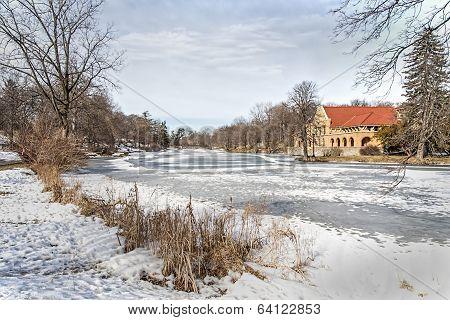 Winter in Albanys Washington Park
