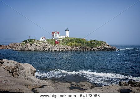 Nubble Light - Panorama