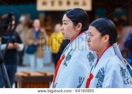 Miko - Japanese Priestess