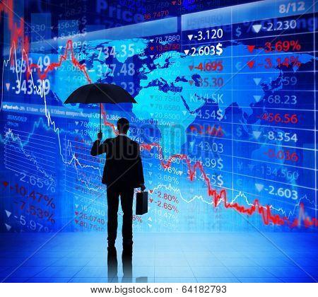 Business People on Economic Crisis