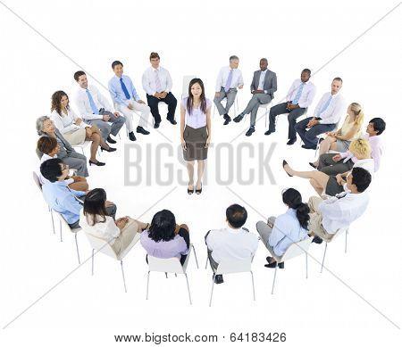 International Business Meeting poster