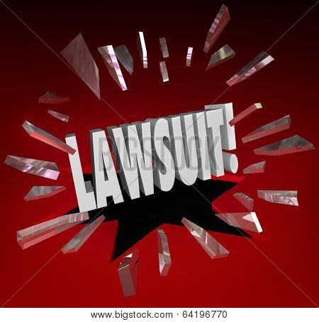 Lawsuit Word Legal Court Case Sue Lawyer Justice