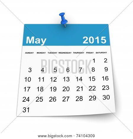 Calendar 2015 - May