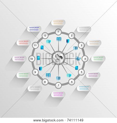 Enterprise application Integration infographics