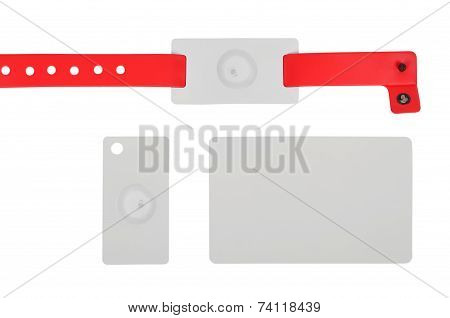 Id Bracelet And Cards