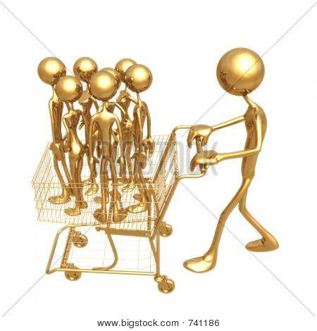 Shopping Cart Workforce