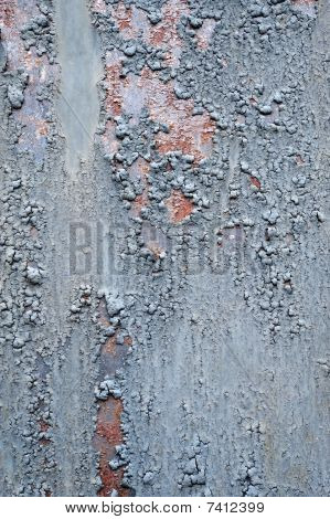Structured metal surface as an abstract background motive poster