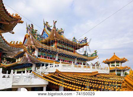 Thean Hou Temple in Kuala Lumpur Malaysia poster