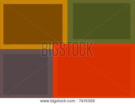 Rectangular Background Composition