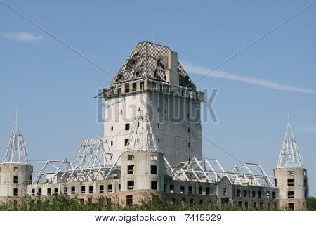 Castle Under Construction.
