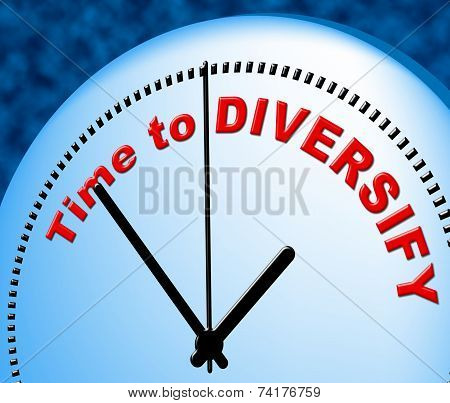 Time To Diversify Indicates At The Moment And Currently
