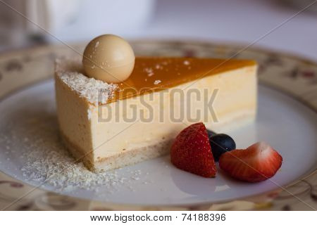 Cheesecake With Coconut