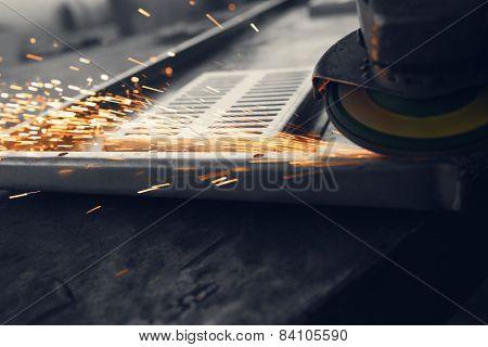 metals in factory