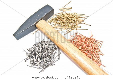 Mallet And Different Nails