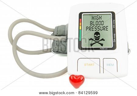 Digital Hypertension blood pressure monitor