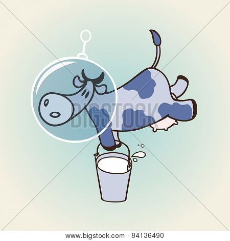 Cow In Space