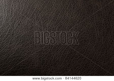 Texture Of Leather Black