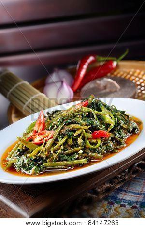 Sambal Chili Kangkong