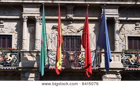 Town hall of Pamplona.