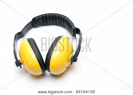 Hearing Protection Ear Isolated Examples Of White Background