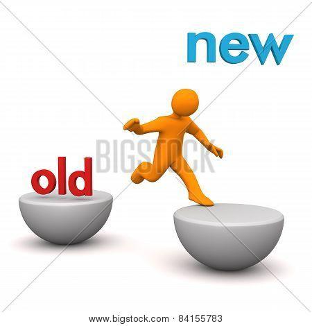 Manikin Old New Jump