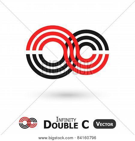 Double C Infinity  ( Infinity Sign Look Like C Shape )