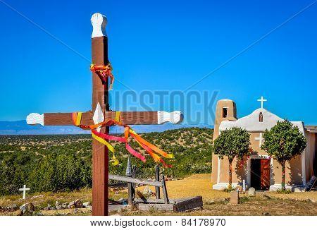 Cross and Historic Church