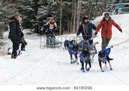 Beargrease 2015 Sawbill Checkpoint