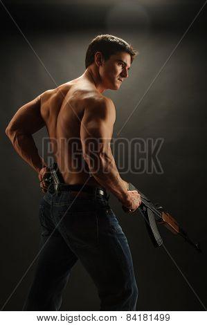 tough soldier