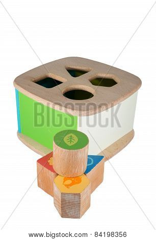 Baby Wood Toy Blocks