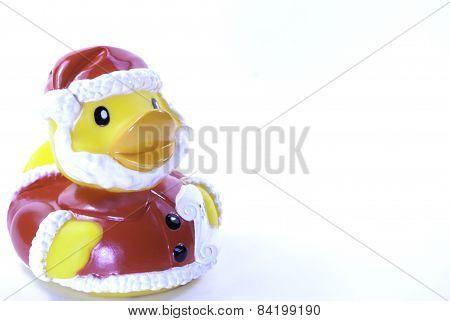 Santa Clause Rubber Duck