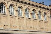 Paris - Sainte-Geneviиve Library. public and university library in Paris. It was designed in Neo-Grec style by the architect Henri Labrouste (1801-1875). Place du Panthйon Paris. poster